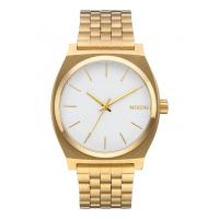 NIXON TIME TELLER GOLD / WHITE , 37 MM