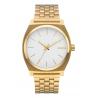 NIXON TIME TELLER GOLD / WHITE , 37 MM