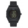 NIXON TIME TELLER DIGI SS ALL BLACK, 40 MM