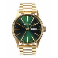 NIXON SENTRY SS GOLD / GREEN SUNRAY, 42 MM