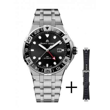 Maurice Lacroix AIKON Venturer GMT 43mm black