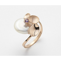 Mikiko ring with Amethyst