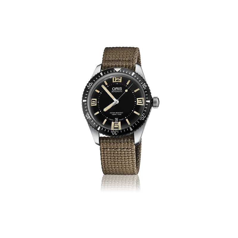 oris divers sixty five oris swiss made watches 01 733 7707. Black Bedroom Furniture Sets. Home Design Ideas
