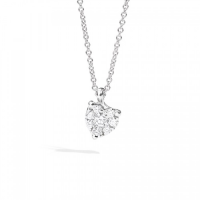 RECARLO Lovely, SUNFLOWER SETTING ON WHITE GOLD NECKLACE