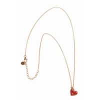 RUE DES MILLE -  ​​NECKLACE WITH GLAZED CHARM