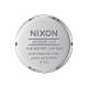 NIXON SENTRY LEATHER , 42 MM BLUE / BROWN