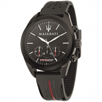 MASERATI Traguardo watch, Red/Black