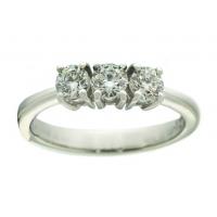 Davite & Delucchi, Trilogy in oro bianco e diamanti