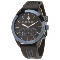 MASERATI Traguardo watch, Blue/Black