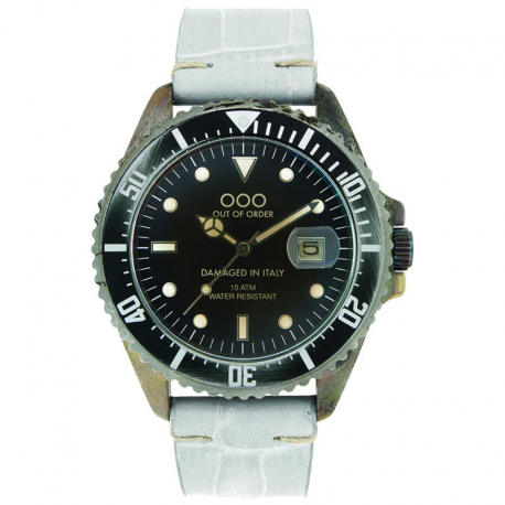 OUT OF ORDER ICE CROCO LEATHER