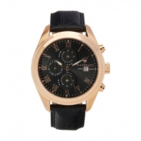 MASERATI Traguardo watch, Rose gold/Black