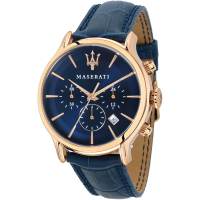 MASERATI Epoca Chrono Blue / Rose Gold