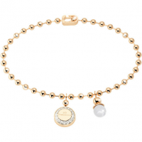 REBECCA - BRONZE BRACELET WITH PEARL BOULEVARD PEARL